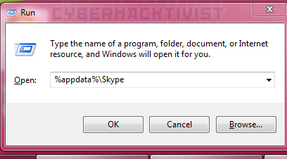 run-skype-folder